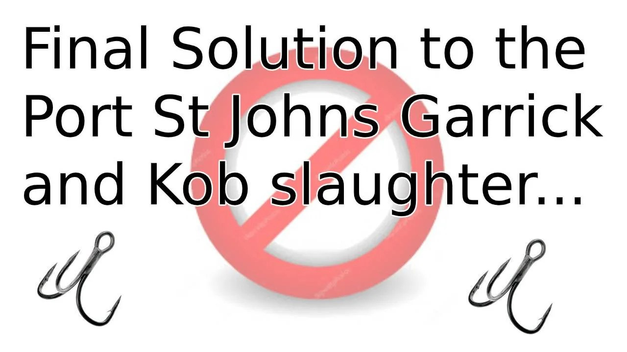Final Solution for Port St Johns Garrick and Kob Slaughter