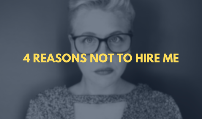 4 Reasons NOT to hire an SEO Content Writer