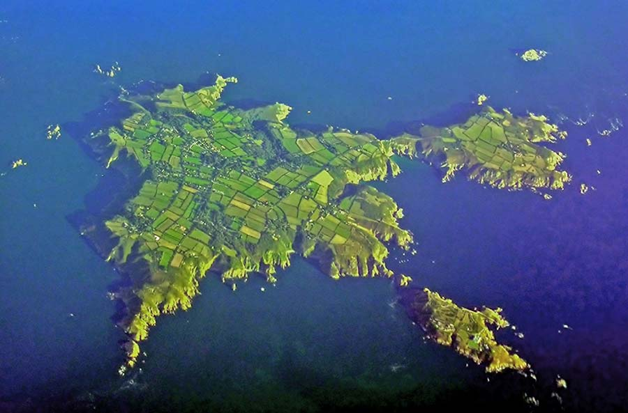Sark from above