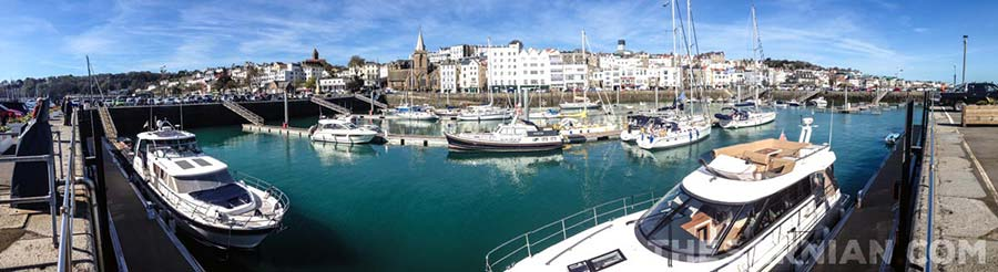 St Peter Port harbour