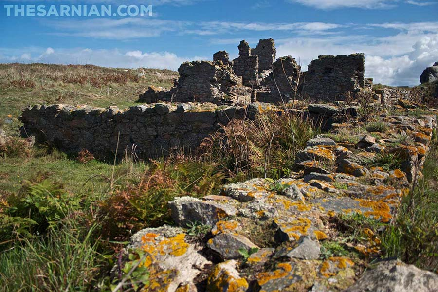 Monastery ruins on Lihou