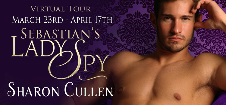 SEBASTIAN'S LADY SPY by Sharon Cullen: ARC Review & Giveaway