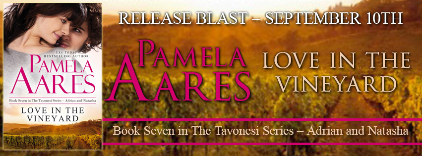 LOVE IN THE VINEYARD by Pamela Aares: Release Spotlight