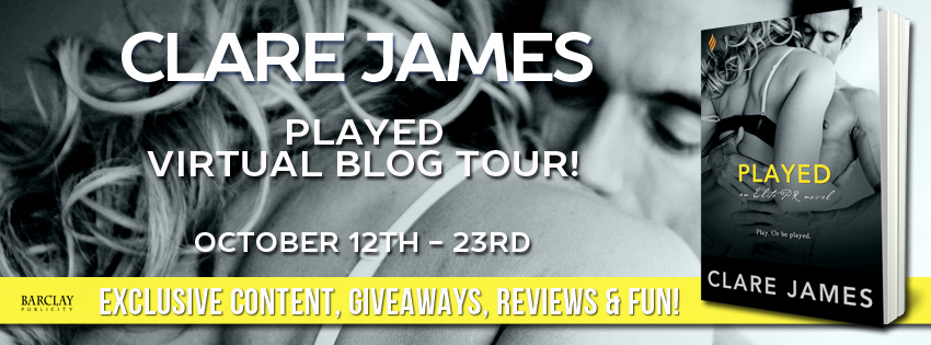 PLAYED by Clare James: Review