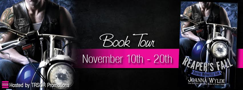 REAPER'S FALL by Joanna Wylde: Book Tour ~ Excerpt & Giveaway