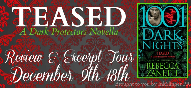 TEASED by Rebecca Zanetti: Review & Excerpt
