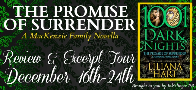 THE PROMISE OF SURRENDER by Liliana Hart: Review & Excerpt