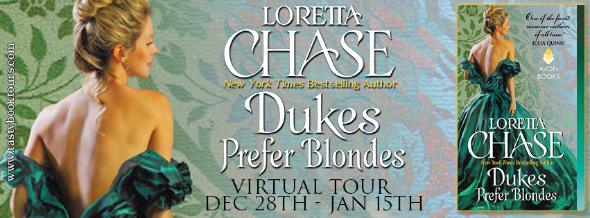 DUKES PREFER BLONDES by Loretta Chase: Excerpt & Giveaway