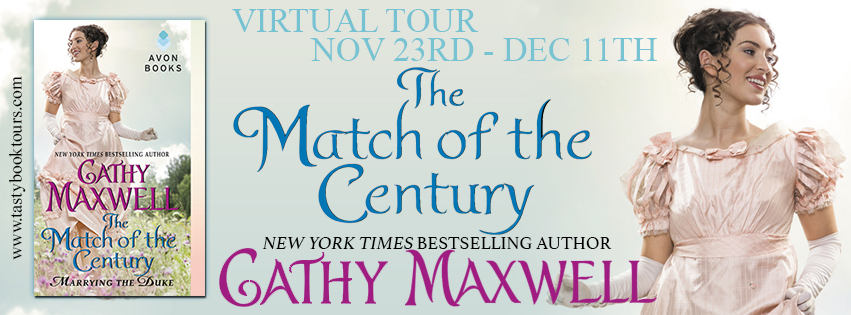 THE MATCH OF THE CENTURY by Cathy Maxwell: Excerpt & Giveaway