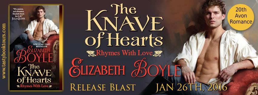 THE KNAVE OF HEARTS by Elizabeth Boyle: Release Spotlight