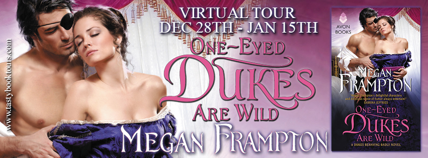 ONE-EYED DUKES ARE WILD by Megan Frampton: Excerpt & Giveaway