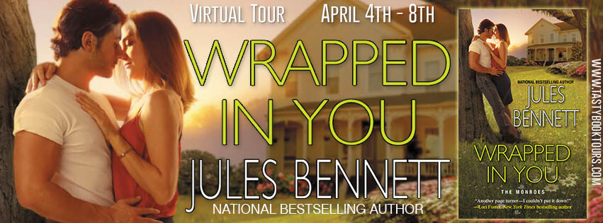 WRAPPED IN YOU by Jules Bennett: Excerpt & Giveaway