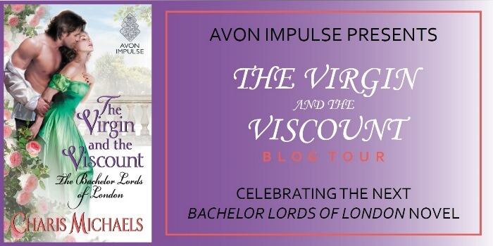 THE VIRGIN AND THE VISCOUNT by Charis Michaels: Review & Giveaway