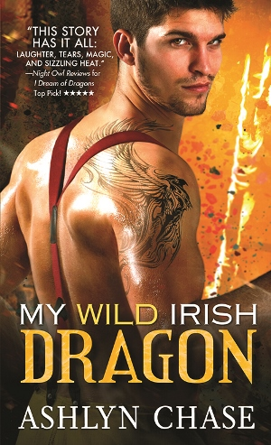 MY WILD IRISH DRAGON by Ashlyn Chase: Review