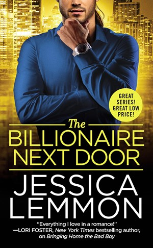 THE BILLIONAIRE NEXT DOOR by Jessica Lemmon: Review, Excerpt & Giveaway