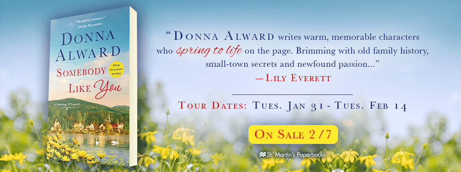 SOMEBODY LIKE YOU by Donna Alward: Review, Excerpt & Giveaway