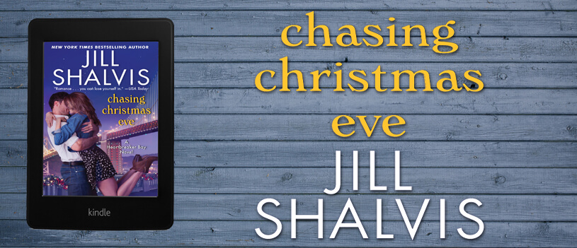 CHASING CHRISTMAS EVE by Jill Shalvis: Cover Reveal