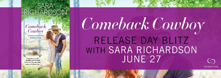 COMEBACK COWBOY by Sara Richardson: Review, Excerpt & Giveaway