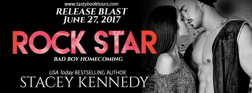 ROCK STAR by Stacey Kennedy: Release Spotlight, Excerpt & Giveaway