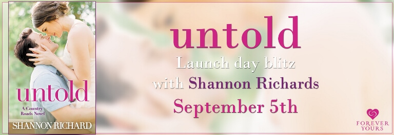 UNTOLD by Shannon Richard: Release Spotlight & Giveaway