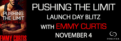 PUSHING THE LIMIT by Emmy Curtis: Release Day Blitz - ARC Review and Excerpt