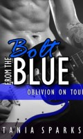 BOLT FROM THE BLUE by Tania Sparks Cover Reveal & Giveaway