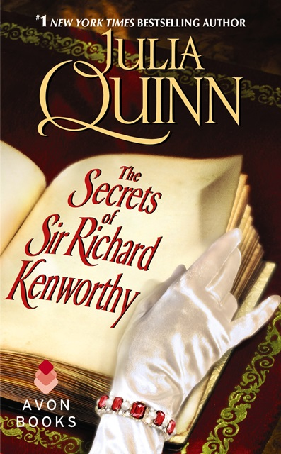 THE SECRETS OF SIR RICHARD KENWORTHY by Julia Quinn: Excerpt & Giveaway