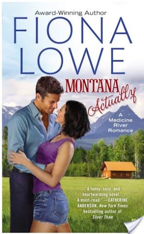 MONTANA ACTUALLY by Fiona Lowe – Blog Tour & ARC Review