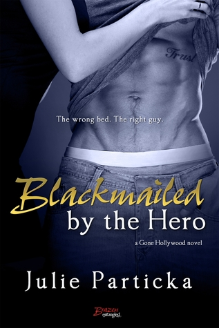BLACKMAILED BY THE HERO by Julie Particka: Review