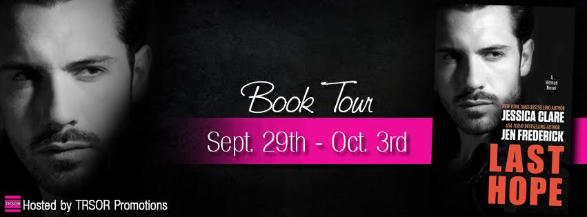 LAST HOPE by Jen Frederick and Jessica Clare: Book Tour