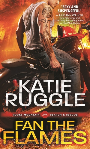 FAN THE FLAMES by Katie Ruggle: Spotlight ~ Review, Excerpt & Giveaway