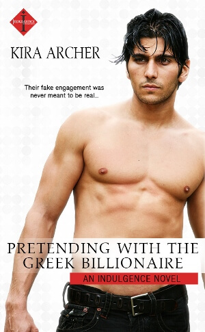 PRETENDING WITH THE GREEK BILLIONAIRE by Kira Archer: Release Spotlight