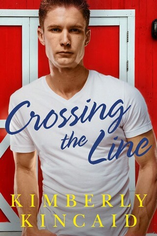 CROSSING THE LINE by Kimberly Kincaid: Cover Reveal