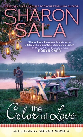 THE COLOR OF LOVE by Sharon Sala: Excerpt & Giveaway
