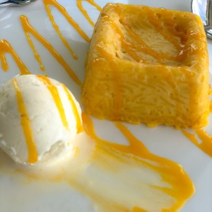 Desert: Mango Sticky Rice with Ice Cream