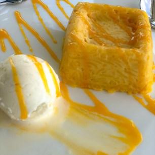 Desert: Mango Sticky Rice with Ice Cream