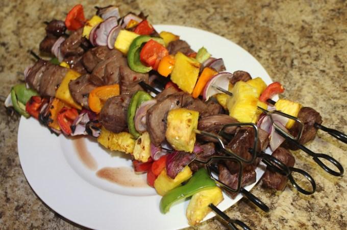 Sassy Steak Kabobs