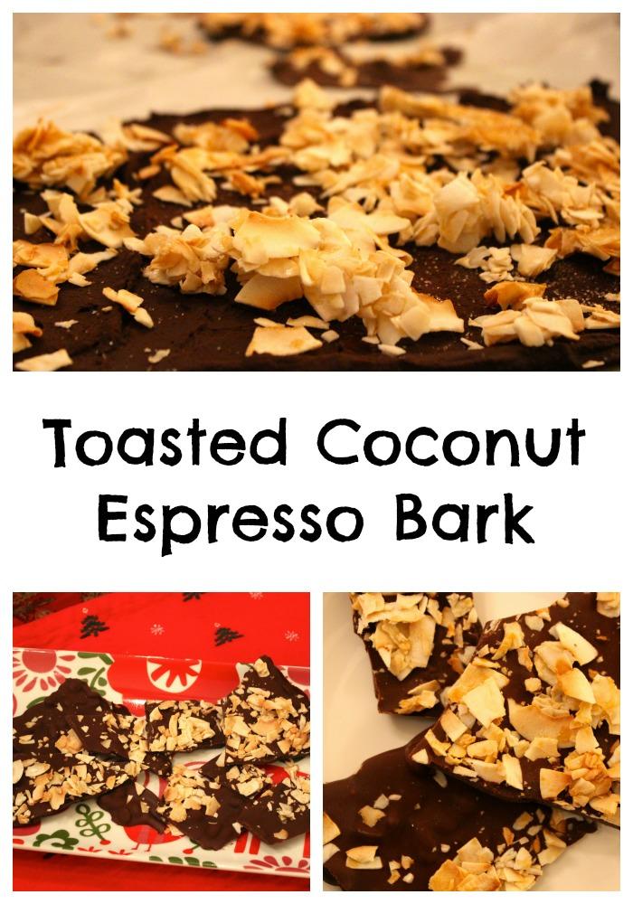 toasted coconut bark