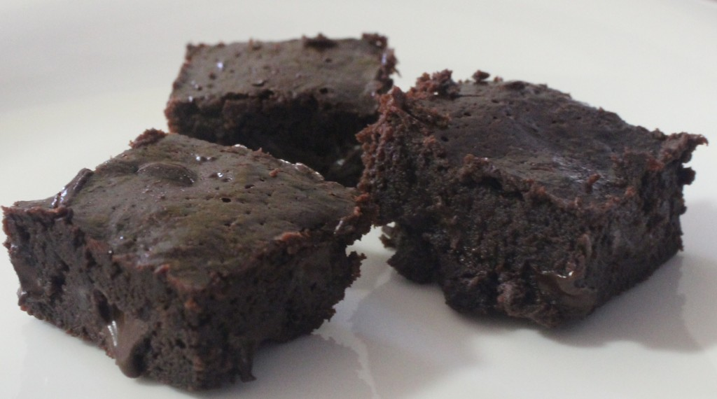Flourless Triple Fudge Brownies