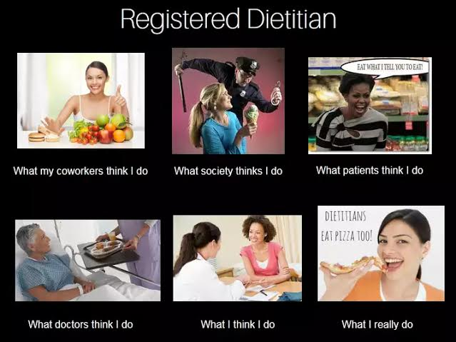 What a Dietitian does