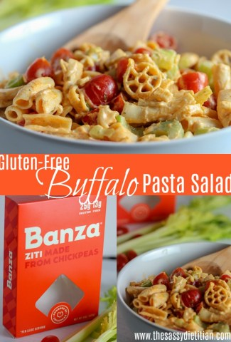 buffalo pasta salad