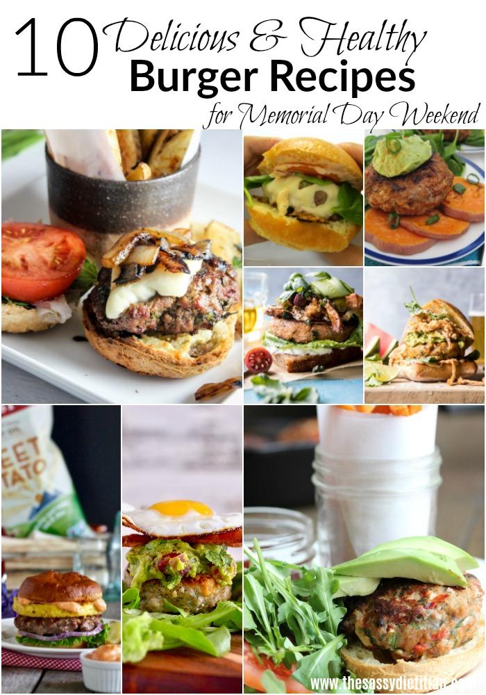 10 Healthy Burger Recipes