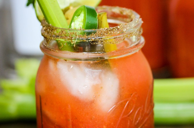 Homemade Spicy Bloody Mary Mix