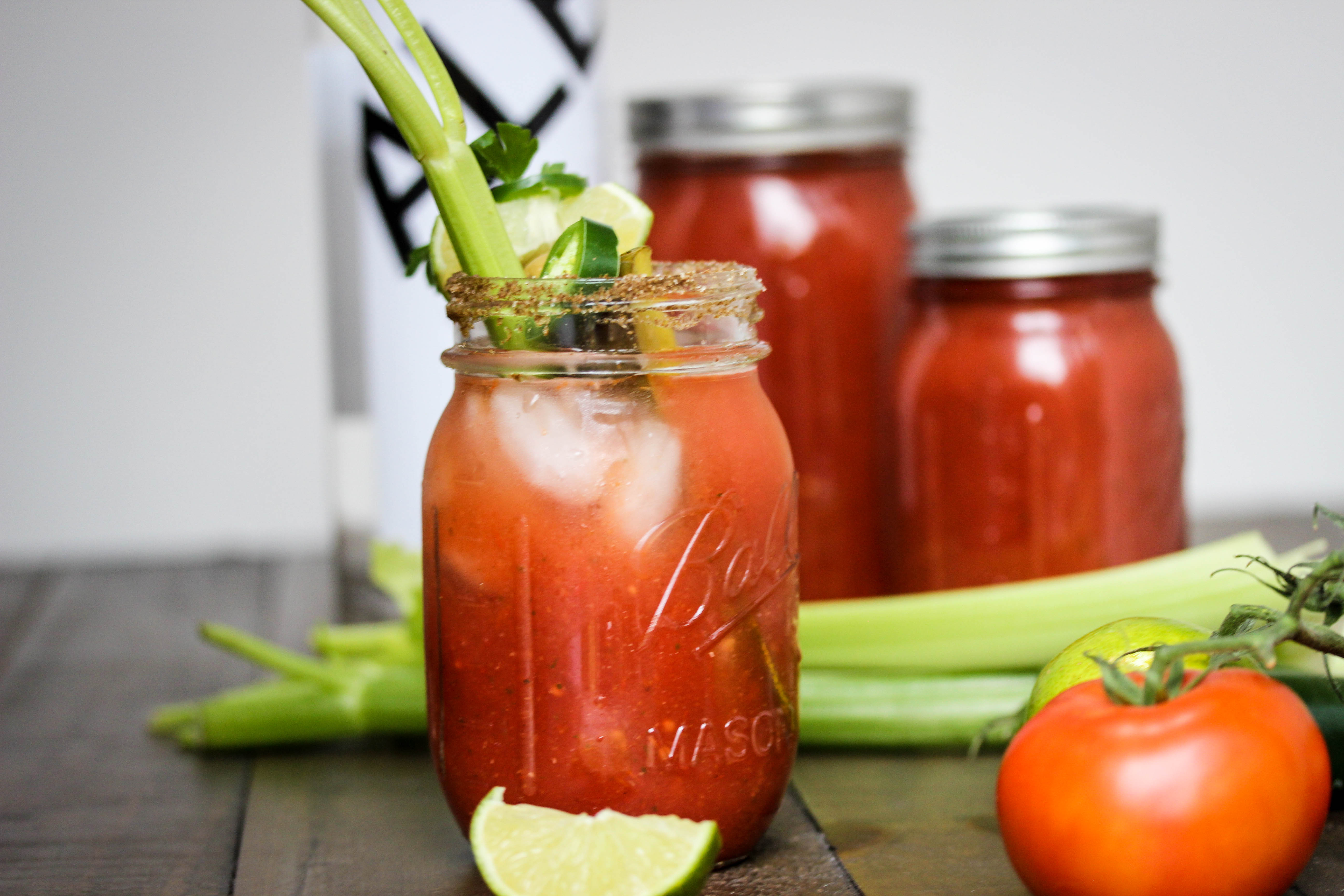 Homemade Spicy Blood Mary Mix