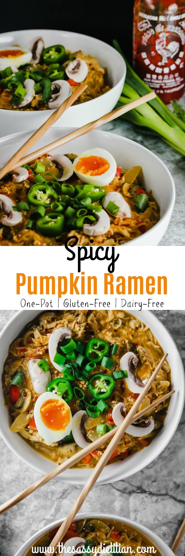 pumpkin gluten free ramen