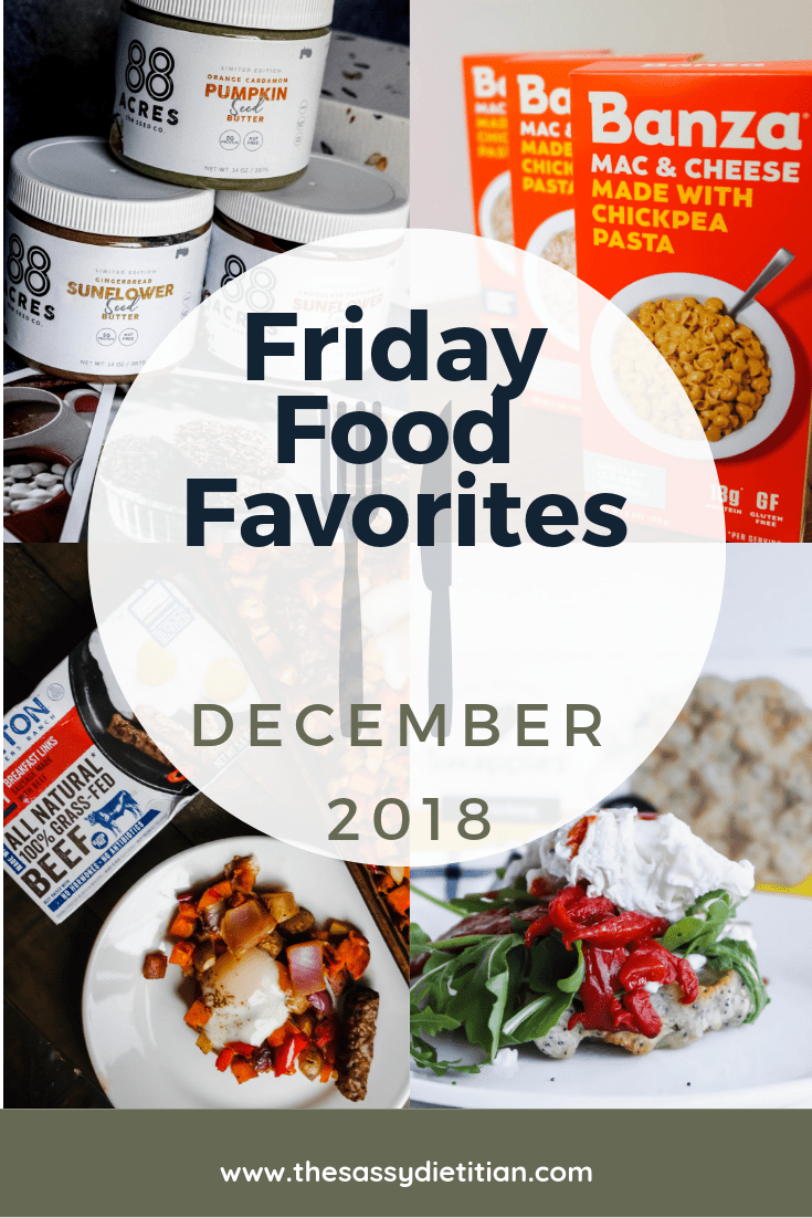 Friday Food Favorites December 2018