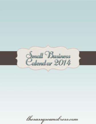 Small Business Calendar 2014