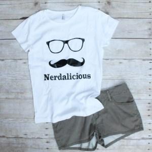 Nerdalicious TShirt $35