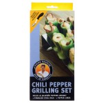 Steven Raichlen Chili Pepper Grilling Set