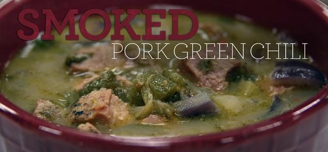 Smoked Pork Green Chili